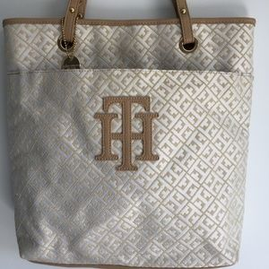Tommy Hilfiger Bags - Tommy Hilfiger Jacquard North South Tote